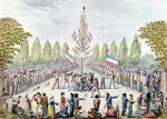 The Plantation of a Liberty Tree during the Revolution c.1792 by Etienne Bericourt