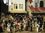 Procession of the Holy League in 1590 by Francois Bunel