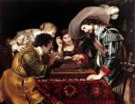 The Game of Backgammon by Cornelis de Vos