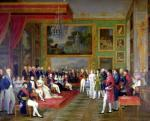 The Marriage of Eugene de Beauharnais to Amalie Auguste of Bavaria in Munich 1808 by Francois Guillaume Menageot