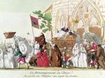 Clergy Leaving the Church after the Sale of Church Property by French School