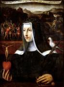 Ex Voto dedicated to St. Catherine of Siena by Italian School