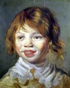 The Laughing Child by Frans Hals