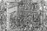 The Massacre of the Protestant Population by the Troops of the Duc de Guise by Jean Jacques Perrissin