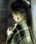 Young Woman with a Small Veil c.1875 by Pierre Auguste Renoir