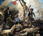 Study for Liberty Leading the People by Eugene Delacroix