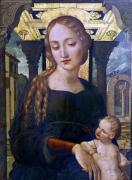 Virgin and Child by Spanish School