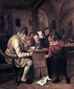 The School Master 1626 by Jan Havicksz Steen
