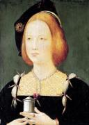 Portrait of Mary of England wife of Louis XII c.1514 by French School
