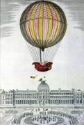 The Flight of Jacques Charles and Nicholas Robert from the Jardin des Tuileries