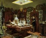 Interior of Monsieur Sauvageot's Collection Room 1856 by Arthur Henri Roberts