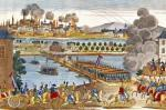 Siege of Vienna 1809 by French School