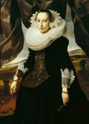Portrait of a Young Dutch Woman by Thomas de Keyser