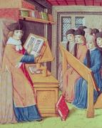 Teaching from 'Les Georgics' by Virgil 1469 by French School