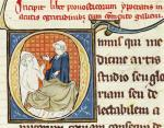 A Doctor Diagnosing a Patient from 'Oeuvres de Galien' by French School