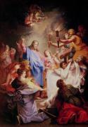 The Resurrection of Lazarus by Jean-Baptiste Corneille