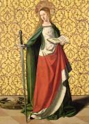 St. Catherine of Alexandria by Josse Lieferinxe