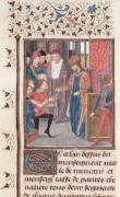 Appointment of Two Knights by French School