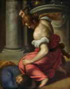 The Death of Sisera by Palma Il Giovane Jacopo Negretti