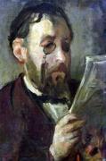 Edgar Degas by Marcellin Gilbert Desboutin