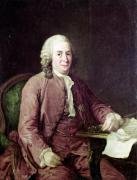 Portrait of Carl von Linnaeus by Alexander Roslin