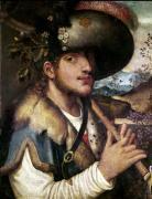 A Shepherd by Niccolo Frangipane