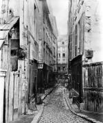Rue des Anglais from Boulevard Saint-Germain Paris 1858 by Charles Marville