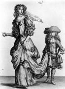The Summer city dress 1678 by Bonnart Family of Engravers