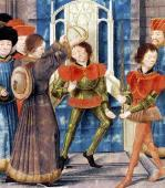 How Baldwin I Sixth Count of Hainaut by French School
