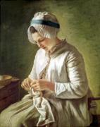 The Seamstress by Francoise Duparc