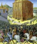 The Siege of Jerusalem by Nebuchadnezzar c.1470 by Jean Fouquet