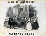 'Lucia de Lamermoor' by Gaetano Donizetti by French School