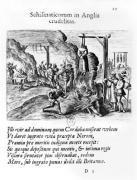Cruelties practised by schismatics in England by Flemish School