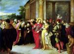 Christ and the Woman Taken in Adultery by Frans Francken The Younger