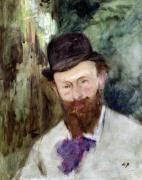 Portrait of Edouard Manet c.1880 by Charles Emile Auguste Carolus-Duran
