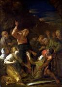 Jesus Healing the Leper 1864 by Jean-Marie Melchior Doze