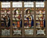 Window depicting Jacques de Bourbon Comte de la Marche by French School
