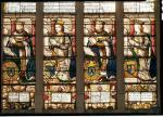 Window depicting Francois de Bourbon Prince Dauphin by French School