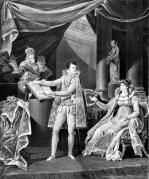 His Majesty the Emperor and King Napoleon I & the Empress-Queen Marie-Louise 1804 by Charles Monnet