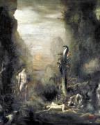 Hercules and the Lernaean Hydra c.1876 by Narcisse Bercher