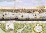 View of Lisbon 1755 by English School