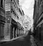 Rue des Bourdonnais Paris 1858 (II) by Charles Marville