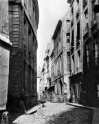 Rue Serpente Paris 1858 by Charles Marville