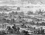 Protestants leaving France by Jan Luyken