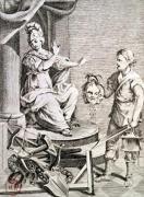 Illustration from 'Dei Delitti e delle Pene' by Italian School
