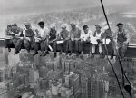 Lunch Atop A Skyscraper 1932 by Charles C. Ebbets