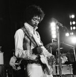 Jimi Hendrix (Live) by Celebrity Image