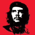 Che Guevara (Red) by Anonymous