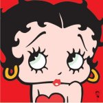 Betty Boop (Red) by Celebrity Image