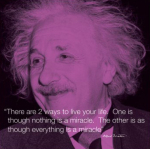 Albert Einstein (I.Quote)